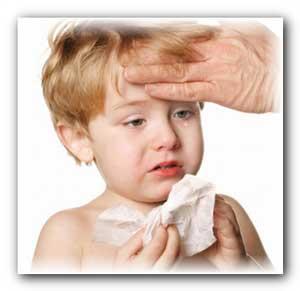 Детям от насморка, от кашля