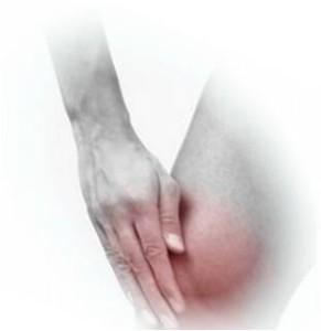 Снять воспаление в коленном суставе